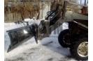 Отвал снегоуборочный поворотный